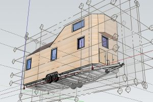 Rolling Tiny House Design und Ergonomie