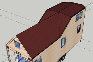 Rolling Tiny House Design