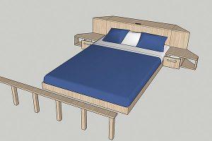 Rolling Tiny House Schlafloft