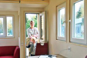 Fenster im Rolling Tiny House
